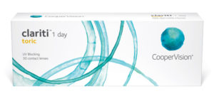 clariti® 1 Day Toric 30 Pack